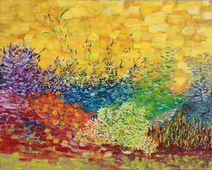 Summer Meadow oil on canvas, 24