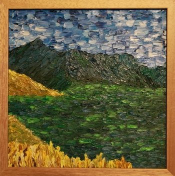 Oil on Panel, 12