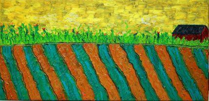 Working Farm Oil on canvas, 12