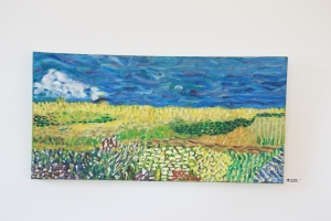 The Field oil on canvas, 12
